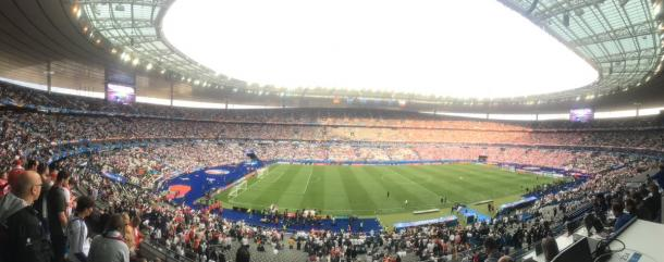 The Stade de France in all it's glory