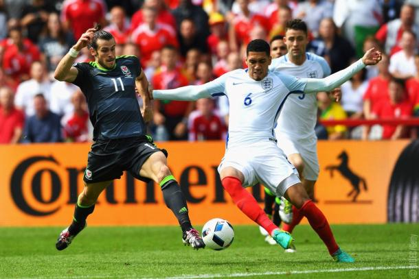 Smalling had an excellent game at the back for England | Photo: Getty