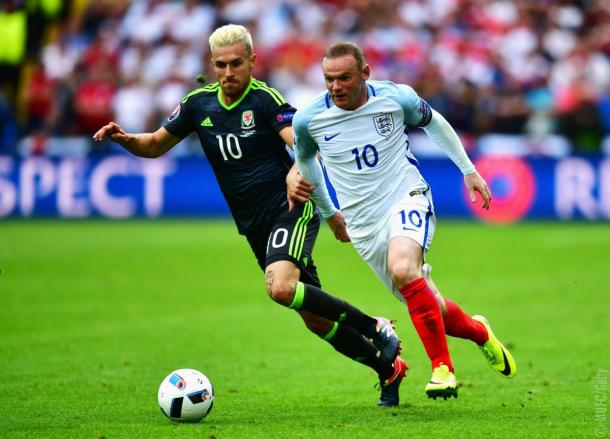 Rooney was excellent in midfield once again for England | Photo: Getty