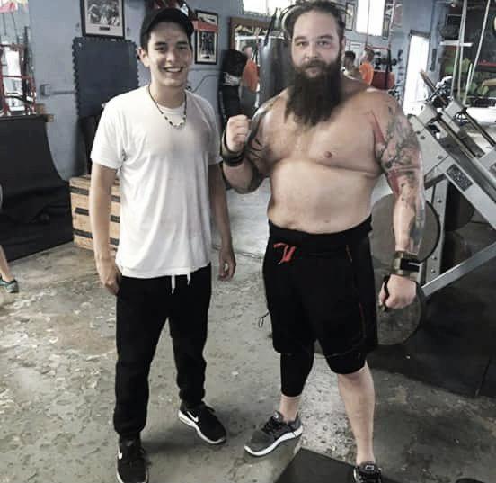 Wyatt is now in fantastic shape. Photo- Twitter.com