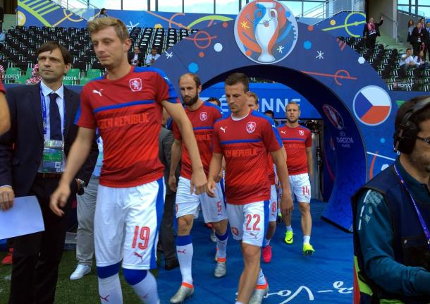 Foto: @ceskarepre_eng \ Czech Football Team Official Twitter