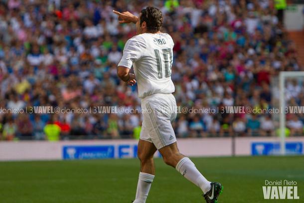 Luis Figo jugando el Corazón Classic Match | Foto: VAVEL