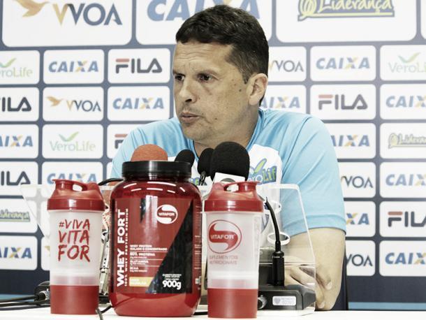Claudinei só tem uma derrota no comando do Avaí em 14 partidas (Foto: André Palma Ribeiro/Avaí FC)