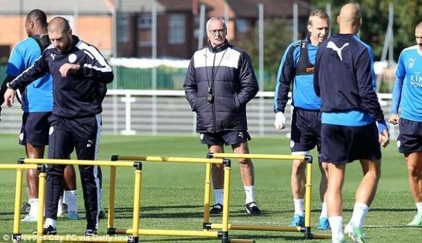 Ranieri en pretemporada. Foto: Getty Images