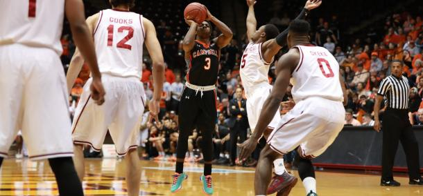 Clemons was never able to consistently get going, despite a team-high 29 points/Photo: Carlos Morales/BigSouthPhotos.com
