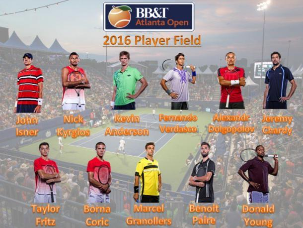 Many top stars will compete in Atlanta this year. Credit: BB&T Atlanta Open