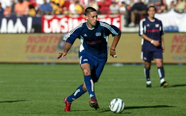 Clint Dempsey rose to stardom as a New England Revolution player | Source: caughtoffside.com