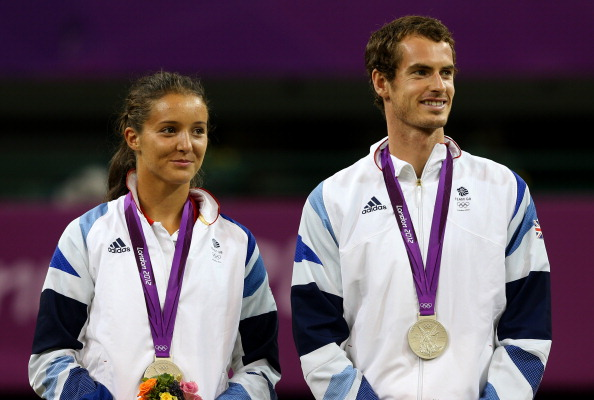 Robson won a silver medal in the 2012 Olympics in Mixed Doubles, competing with Andy Murray. Credit: Clive Brunskill/Getty Images