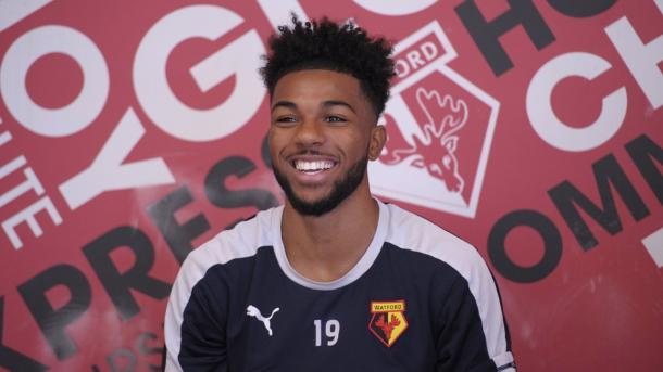 Jerome Sinclair will look to cement a place in the first team | Photo: Watford FC