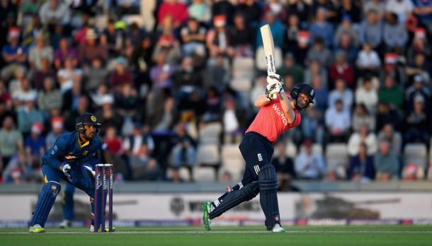 Morgan played a crucial knock for England | Photo: Getty