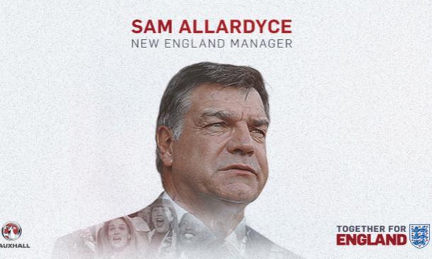 Il saluto ad Allardyce. Fonte foto: FA.com