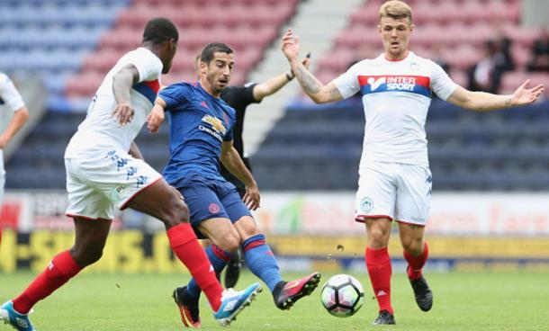 Mkhitaryan impressed on his debut | Photo: Getty