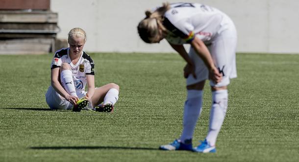 Umea need to turn things around quickly. (Photo: fotbollskanalen)