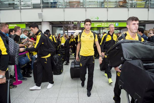 Dortmund have done their fair share of travelling this summer. (Photo: BVB)