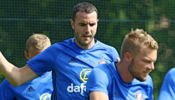 Having returned to training, could John O'Shea and Sebastian Larsson feature tomorrow? (Photo: Sunderland AFC)