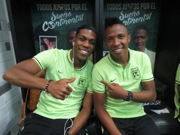 Jugadores de Nacional en el camerino -  Foto: @nacionaloficial