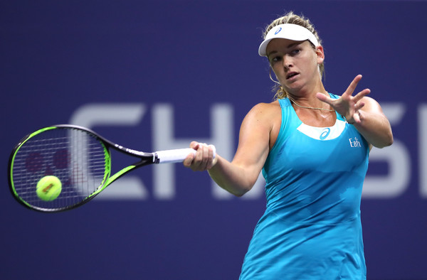 Coco Vandeweghe in action | Photo: Matthew Stockman/Getty Images North America