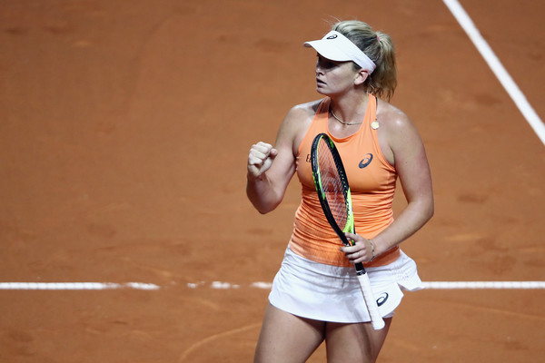 Coco Vandeweghe had the best possible start but failed to maintain her high level of play | Photo: Alex Grimm/Getty Images Europe