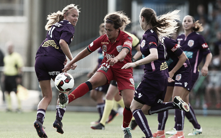 Colaprico's brace led Adelaide United over Perth Glory | Source: Paul Kane - Getty Images