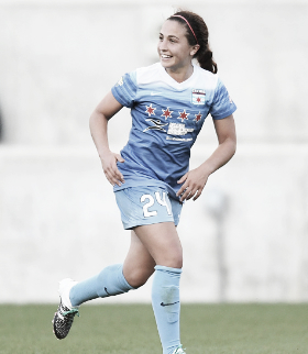 Colaprico enters her third season with the Red Stars | Source: IconSportswire - Getty Images