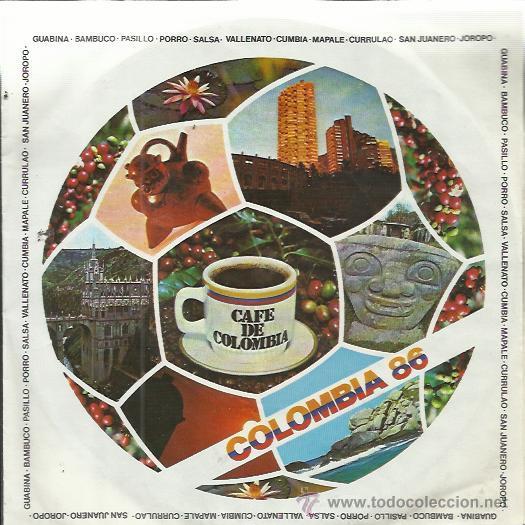 Poster Oficial de Colombia 1986