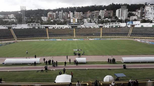 El Estadio Olímpico Atahualpa de Quito es el escenario para el Hexagonal Final. | Foto: CONMEBOL.