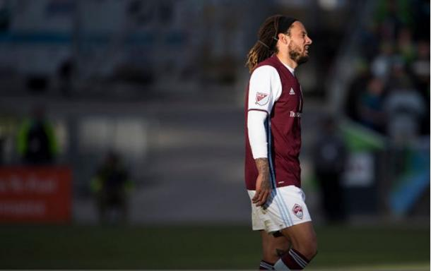 Colorado Rapids midfielder Jermaine Jones (above) was the Rapids' best player on Sunday. Photo credit: Daniel Petty/Denver Post