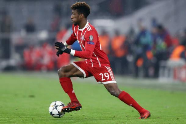 Coman vinha sendo uma das principais peças do Bayern até se machucar (Foto: Alex Grimm/Bongarts via Getty Images)