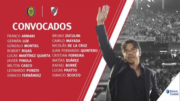 Los 18 que viajaron a Rosario.