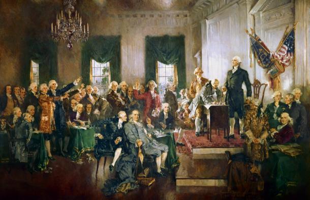 Constitutional Convention in Philadelphia, 1787