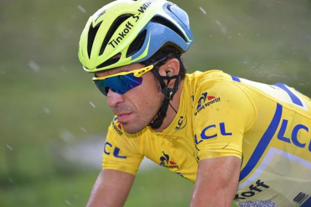 Contador lost the leader's jersey to Froome yesterday / Cycling News