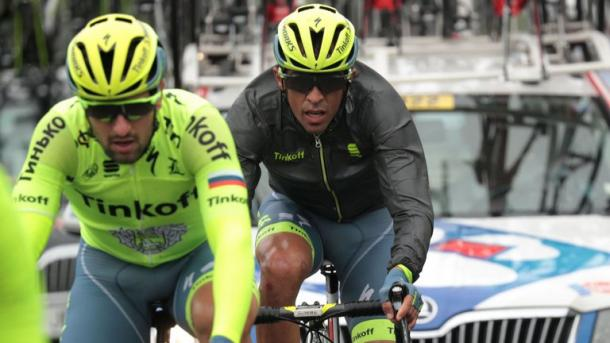 Contador has lost some time on his rivals after disastrous opening weekend / Sky Sports