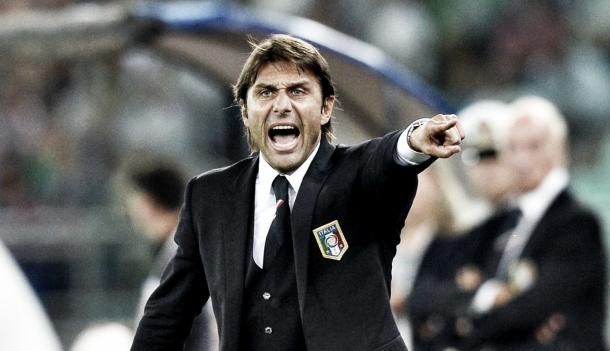 Above: Current Italian manager Antonio Conte has signed a three-year-deal to manage Chelsea FC | Sky Sports