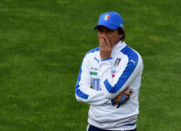 Pensa rápido, Conte: a Eurocopa já está batendo à porta (Foto: Claudio Villa/Getty Images)