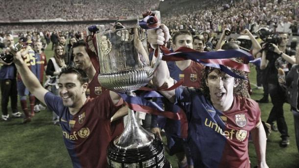 Final de Copa del Rey 2009 | Foto: fcbarcelona.com