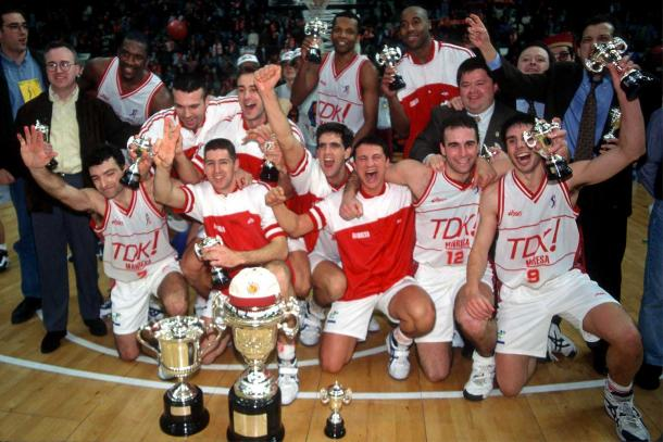 TDK Manresa se hizo con su primer y único título copero en 1996 | Foto: ACB Photo