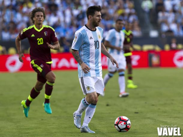 Argentina will need Lionel Messi to guide them past the USMNT in the semifinal match. Photo provided by VAVEL USA.