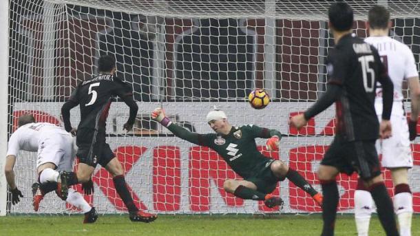 La rete di Bonaventura in Coppa Italia, lapresse.it