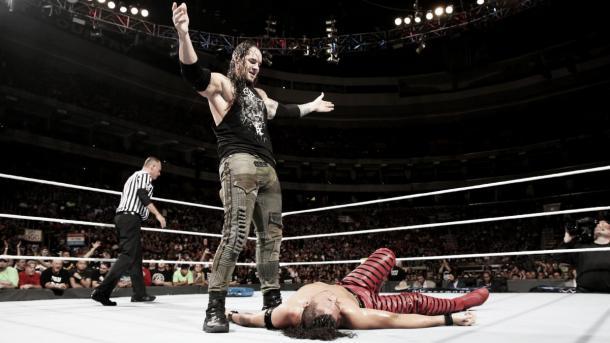 The Lone Wolf stood tall at Battleground. Photo-WWE.com