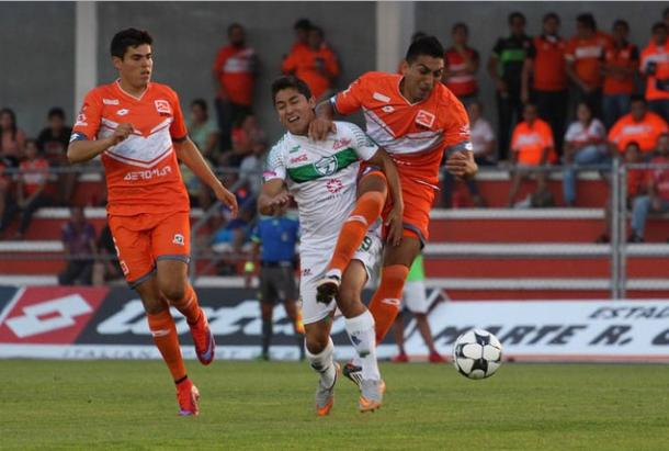 A pesar de los esfuerzos el encuentro entre Correcaminos y zacatepec terminó en empate a ceros