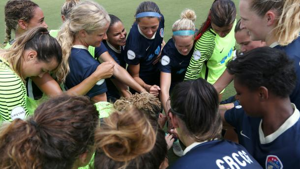 With a win against the Red Stars, the Courage headed to the NWSL Championship | Source: Andy Mead - ISI Photos