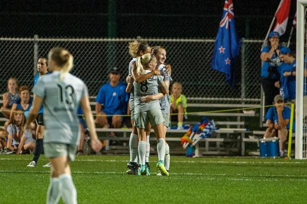 The North Carolina Courage finished the 2017 regular season as the top team in the NWSL   Source: Amy Kontras - ISI Photos
