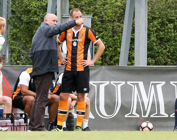 Meyler is focused on the task at hand (photo : Twitter / Hull City)