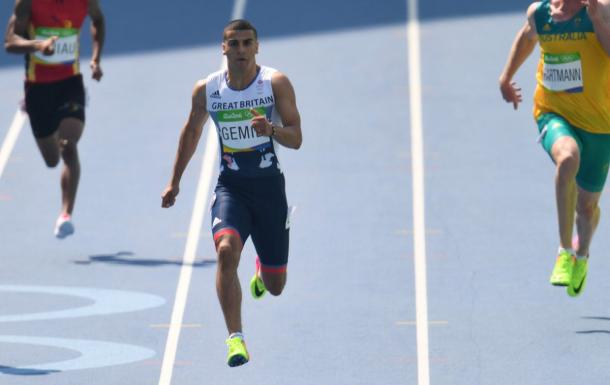 Gemili was very impressive in the 200 heats | Photo: Getty