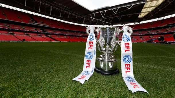 The competition has been rebranded as the EFL Cup this season, having formerly been known as the Capital One Cup. Photo; Getty