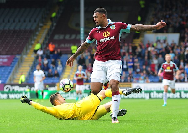 Fabianski was fantastic in the victory. (Photo: Burnley Express)