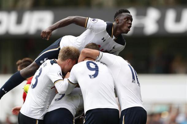 L'esultanza degli Spurs | Foto: premierleague.com