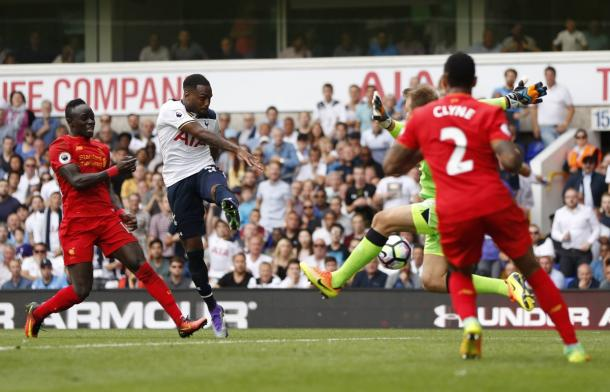 Rose smashes home Spurs's equaliser late on | Photo: Getty