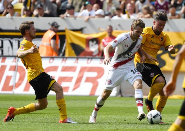 Another bad day for Buchtmann and co. | Photo: FC St. Pauli