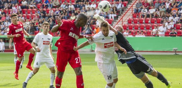 Anthony Modeste was amongst the scorers for Köln. | Photo: 1. FC Köln